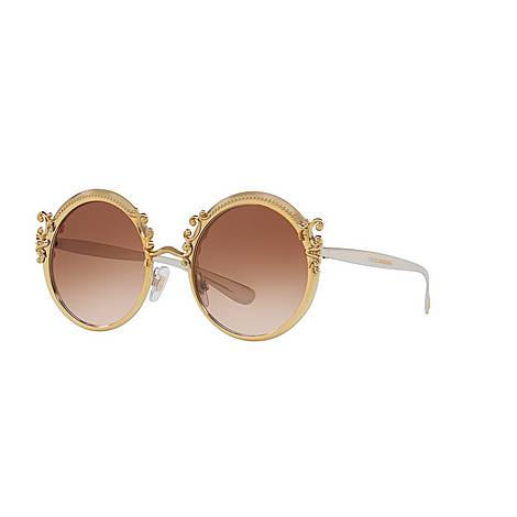 Round Sunglasses DG2177, ${color}