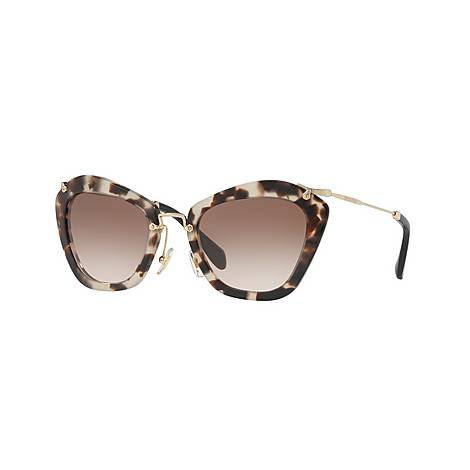 Cat Eye Sunglasses MU 10NS, ${color}