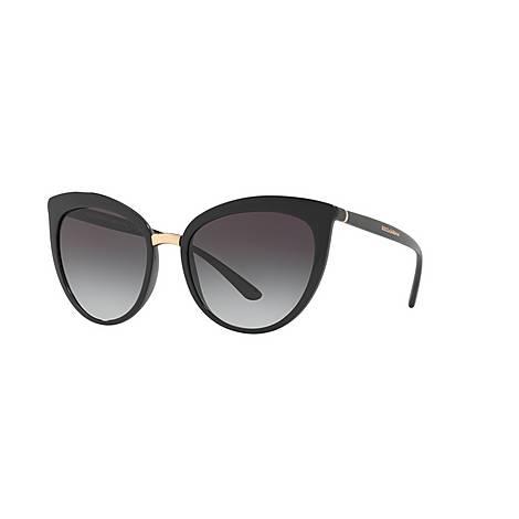Cat-Eye 0DG6113 Sunglasses, ${color}