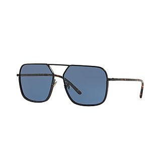 Irregular 0DG2193J Aviator Sunglasses