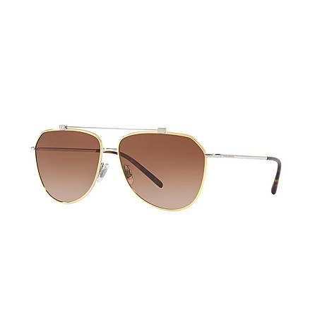 Aviator 0DG2190 Sunglasses, ${color}