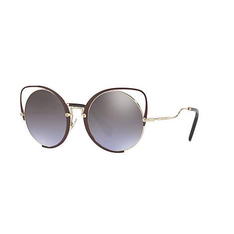 Irregular Cat-Eye Sunglasses 0MU 51TS, ${color}