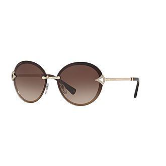 Round Sunglasses BV6101B