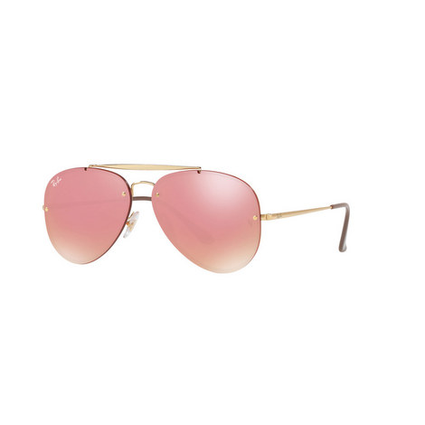 Blaze Aviator Sunglasses, ${color}
