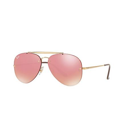 Blaze Aviator Sunglasses, ${color}