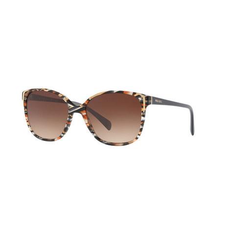 Square Printed Sunglasses 0PR 01OS, ${color}