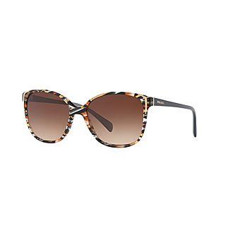 Square Printed Sunglasses 0PR 01OS
