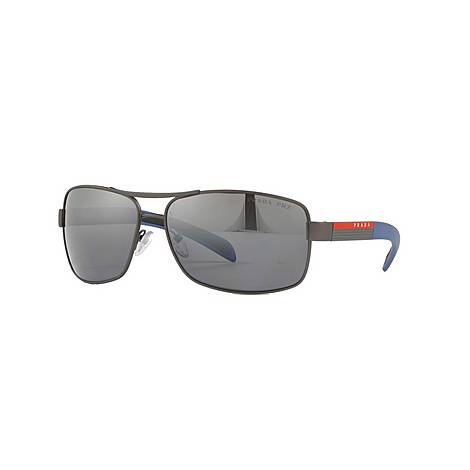Rectangle Sunglasses 0PS 54IS, ${color}