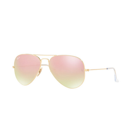 Aviator Metal Sunglasses, ${color}