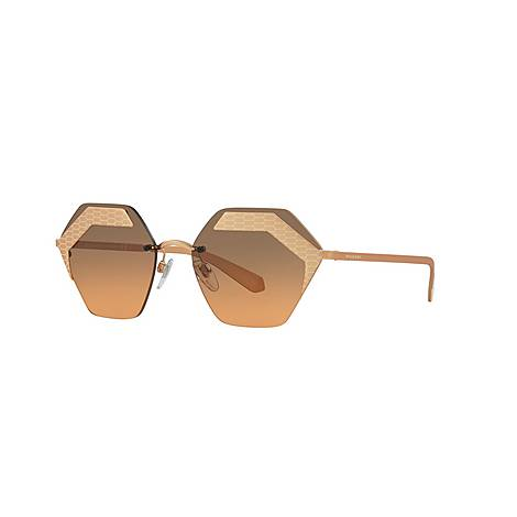 Hexagon Sunglasses 0BV6103, ${color}