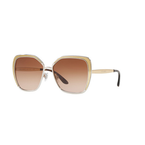 Angled Butterfly Sunglasses 0DG2197, ${color}