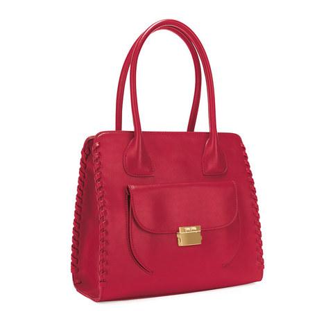 Fashion Braid Tote Bag, ${color}