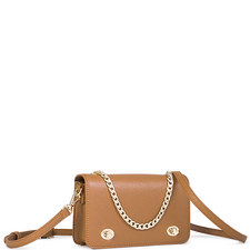 Twin Lock Crossbody Bag