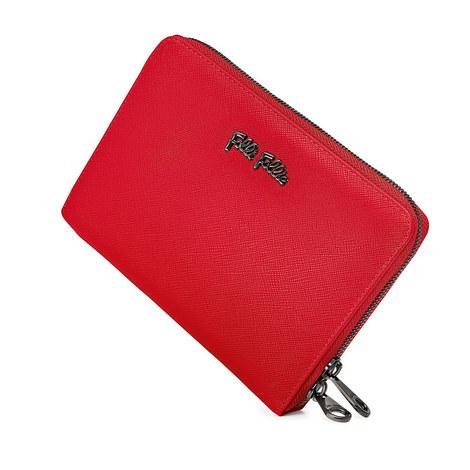 Saffiano Travel Wallet, ${color}