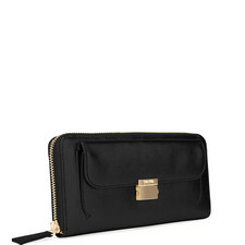 Fashion Braid Continental Wallet