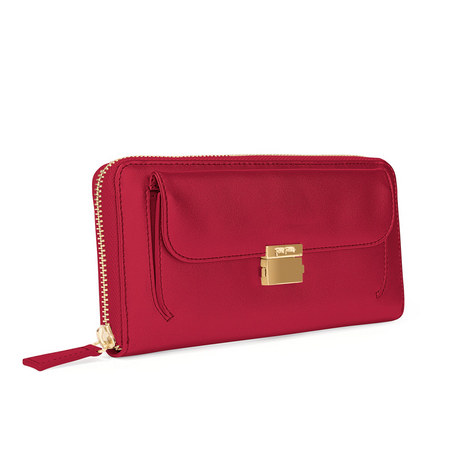 Fashion Braid Continental Wallet, ${color}