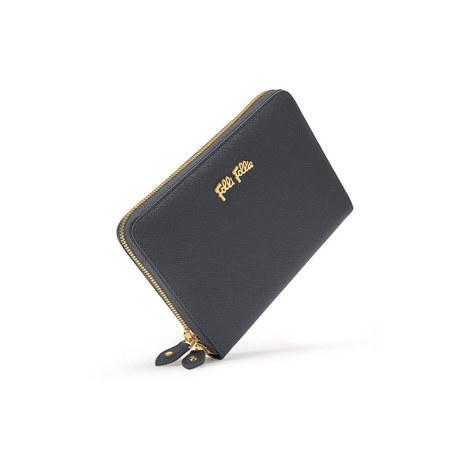 Saffiano Zip-Around Wallet, ${color}