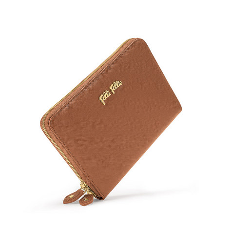 Saffiano Zip-Around Wallet, ${color}