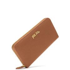 Continental Zip-Around Wallet