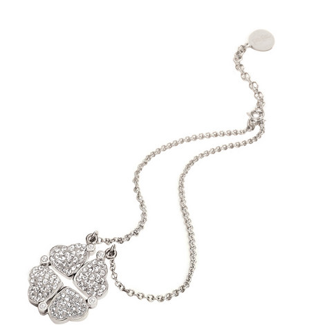 Heart4Heart Loveheart Pendant Necklace, ${color}