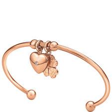 Heart4Heart Sweetheart Cuff Bracelet