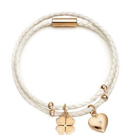 Heart4Heart Sweetheart Woven Bracelet, ${color}