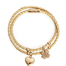 Heart4Heart Sweetheart Woven Bracelet