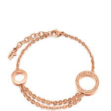 Classy Double Circle Bracelet
