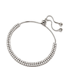 Fashionably Double Row Bracelet