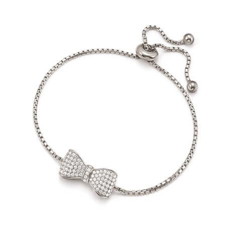 Fashionably Bow Bracelet, ${color}