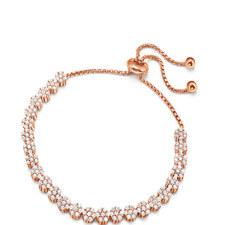 Fashionably Crystal Cluster Bracelet