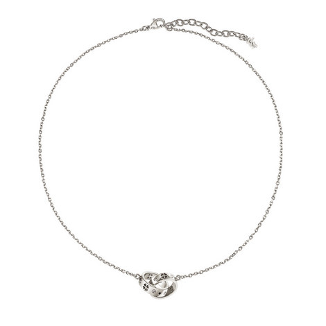Love and Fortune Crystal Necklace, ${color}