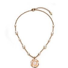 Santorini Floral Mini Pearl Necklace