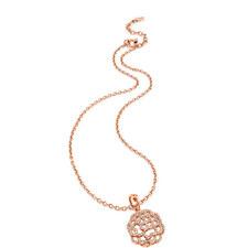 Santorini Flower Crystal Necklace