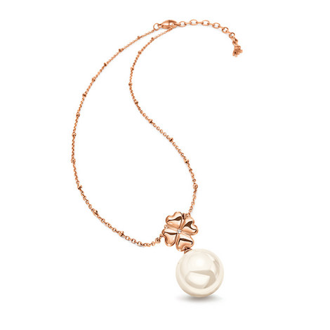 Grace Pearl Drop Necklace, ${color}