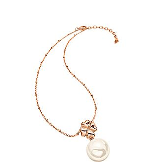 Pearl Muse Drop Necklace