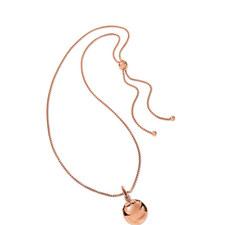 Lady Bubble Long Pendant Necklace
