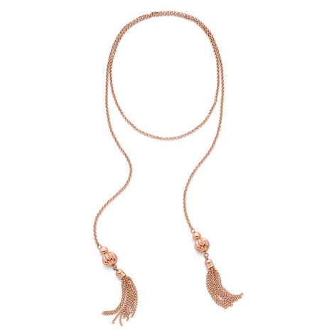 Style Fairy Double Tassel Necklace, ${color}
