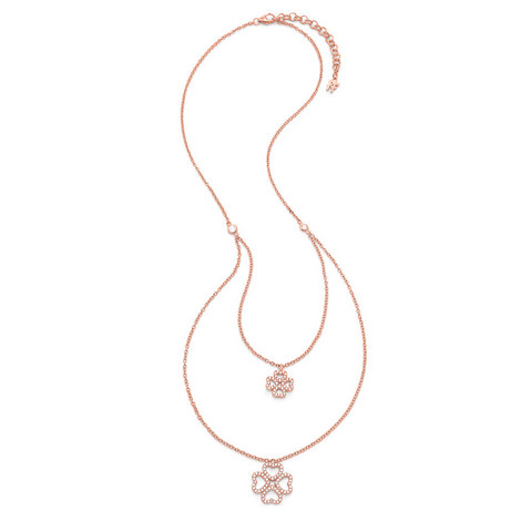 Miss Heart4Heart Double Strand Necklace, ${color}