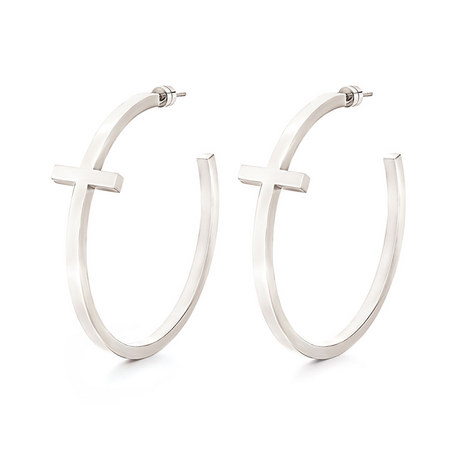 Carma Hoop Earrings, ${color}