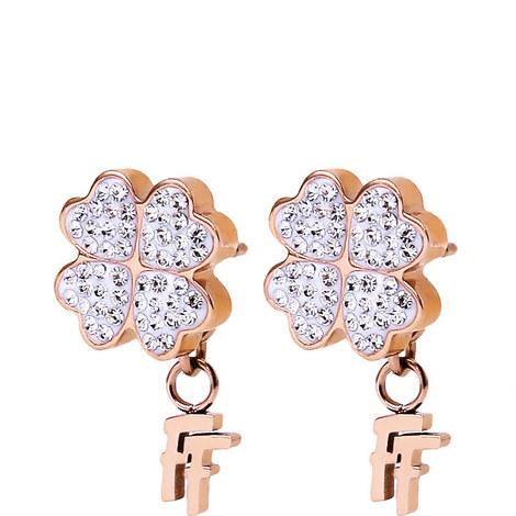 Heart4Heart FF Drop Earrings, ${color}