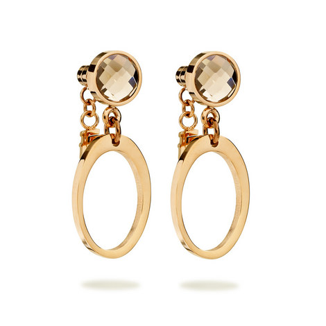 Classy Element Drop Earrings, ${color}