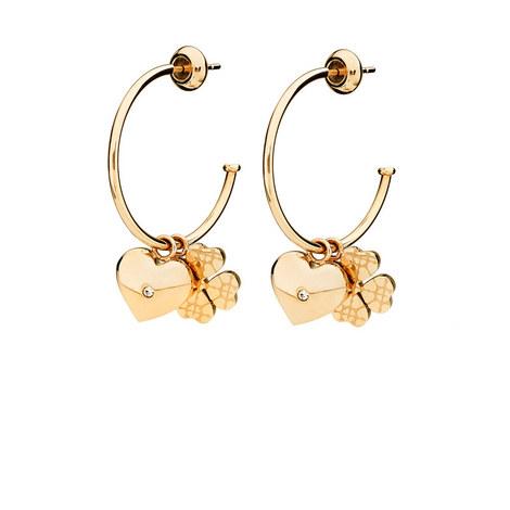 Heart4Heart Sweetheart Hoop Earrings, ${color}