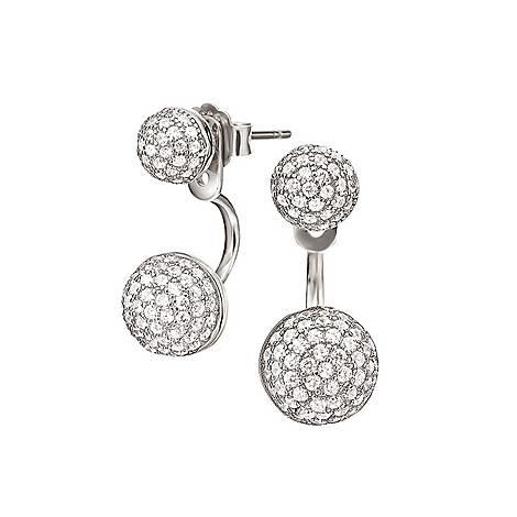 Fashionably Oval Drop Earrings, ${color}