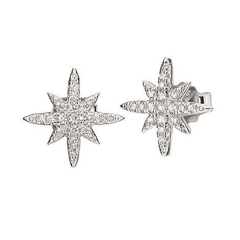 Fashionably Snowflake Studs, ${color}