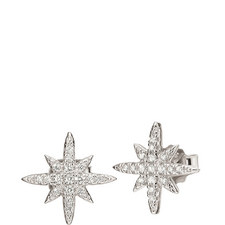 Fashionably Snowflake Studs