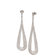 Fashionably Long Drop Earrings