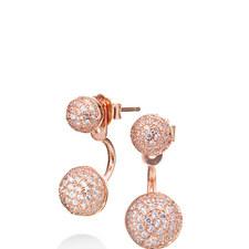 Fashionably Orb Drop Earrings