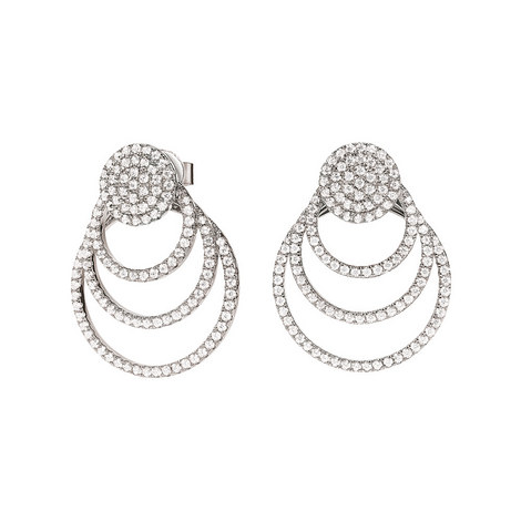 Fashionably Circular Earrings, ${color}