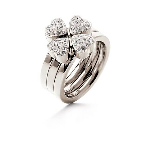 Heart4Heart Crystal Stacking Rings, ${color}
